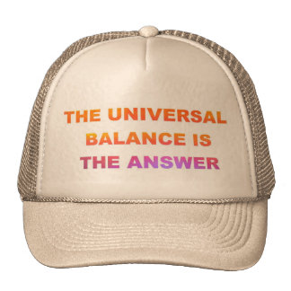 The Universal Balance Trucker Hat