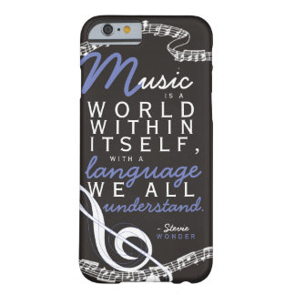 The universal language. barely there iPhone 6 case