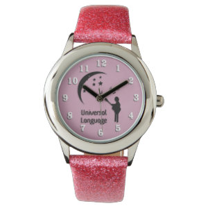 The Universal Language Pink Watches
