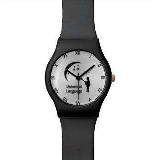 The Universal Language Roman Numerals Wristwatch