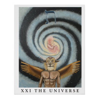 """The Universe - 22"""" x 28"""" Poster"""