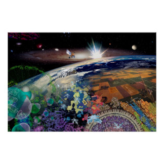 The Universe at a Glance Poster
