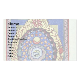The Universe By Meister Des Hildegardis-Codex (Bes Double-Sided Standard Business Cards (Pack Of 100)