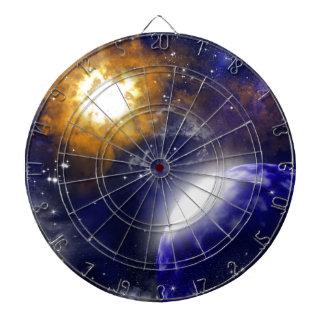 The universe dart board