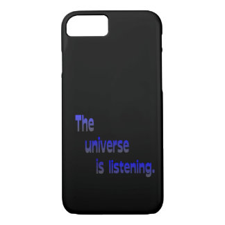 The Universe Is Listening iPhone 8/7 Case