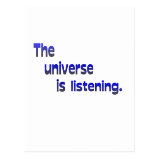 The Universe Is Listening Post Cards