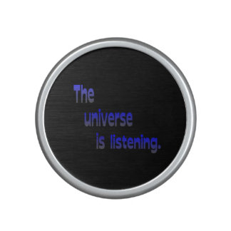 The Universe Is Listening Speaker