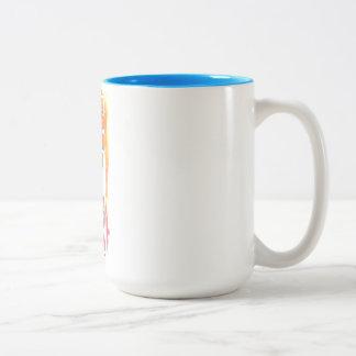 The Universe is my Sugar Daddy New-Age Original Two-Tone Coffee Mug