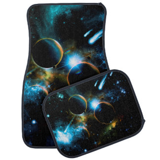 The universe of planets car mat