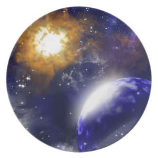 The universe dinner plates