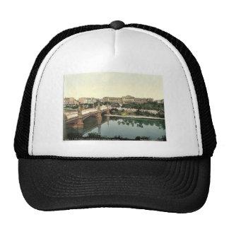 The University and bridge, Strassburg, Alsace Lorr Trucker Hat