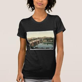 The University and bridge, Strassburg, Alsace Lorr T Shirts