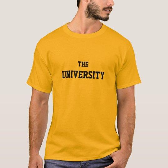 The University-basic tee