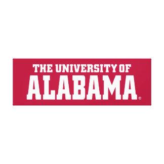 The University Of Alabama Canvas Print