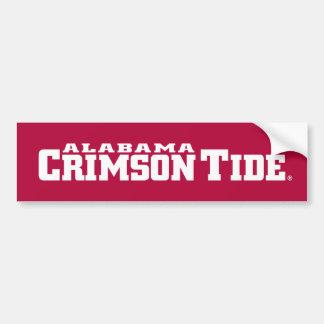 The University of Alabama Crimson Tide Bumper Sticker