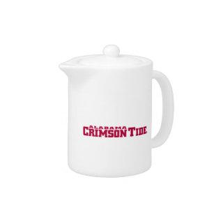 The University Of Alabama Crimson Tide Teapot at Zazzle
