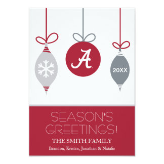 The University Of Alabama Holiday Cards