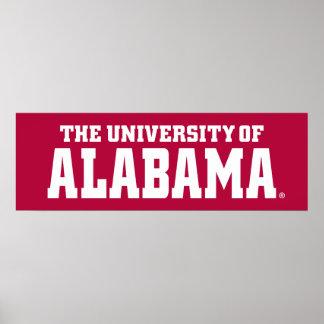 The University Of Alabama Poster
