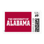 The University Of Alabama Wordmark Postage Stamp