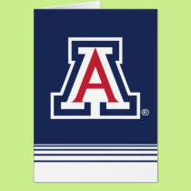 The University of Arizona | A - Stripes Card