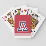 "The University of Arizona | A - Stripes Playing Cards<br><div class=""desc"">Check out these University of Arizona designs and products. These make perfect gifts for the Wildcat student,  fan,  faculty,  and alumni. All of these products are customizable from Zazzle!</div>"