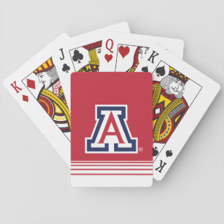 The University of Arizona | A - Stripes Playing Cards