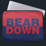 "The University of Arizona | Bear Down Laptop Sleeve<br><div class=""desc"">Check out these University of Arizona designs and products. These make perfect gifts for the Wildcat student,  fan,  faculty,  and alumni. All of these products are customizable from Zazzle!</div>"