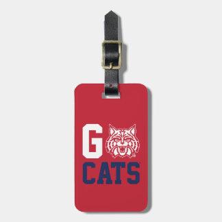 The University of Arizona | Go Cats Bag Tag