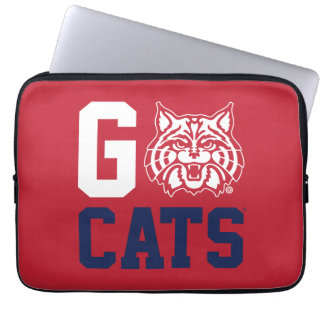 The University of Arizona   Go Cats Laptop Sleeve