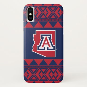 Aztec Themed The University of Arizona | State - Aztec iPhone X Case