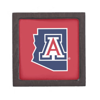 The University of Arizona   State Jewelry Box