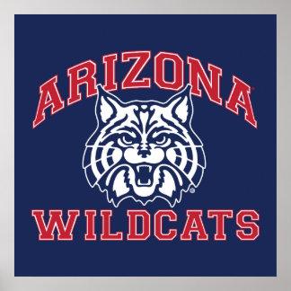 The University of Arizona   Wildcats Poster