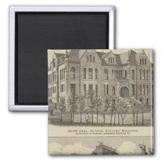 The University of Kansas Fridge Magnets