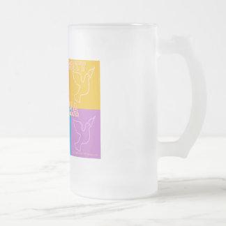 The University of Obama 16 Oz Frosted Glass Beer Mug