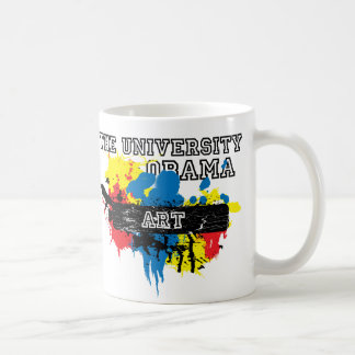 The University of Obama Art Dept Classic White Coffee Mug