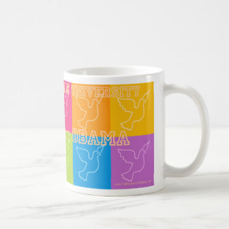 The University of Obama Classic White Coffee Mug