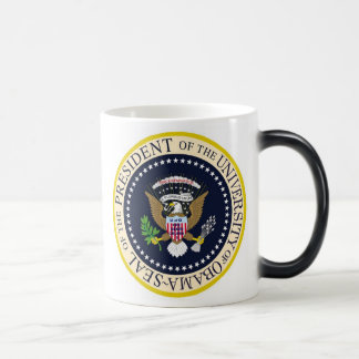 The University of Obama Official Presidential Seal Magic Mug