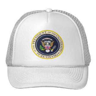 The University of Obama Presidential Seal Hats