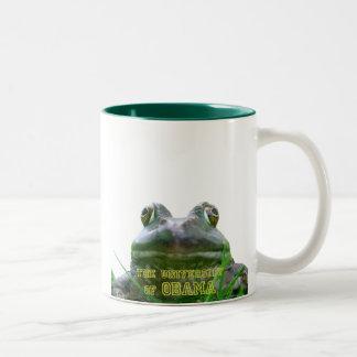 The University of Obama Zoology Dept. Two-Tone Coffee Mug