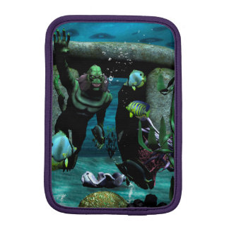 The unknown creature of the sea sleeve for iPad mini