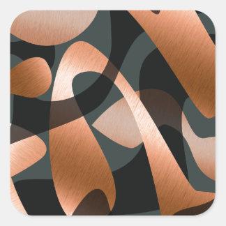 The Unknown Square Sticker