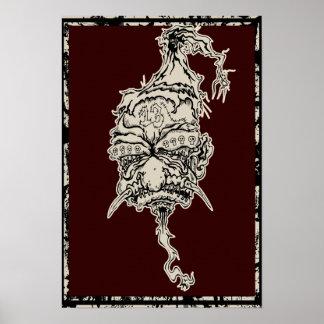 The Unlucky Shrunken Head canvas poster