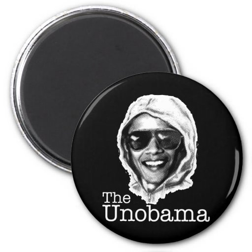 The UnObama - Obama Unabomber evil twin Magnet