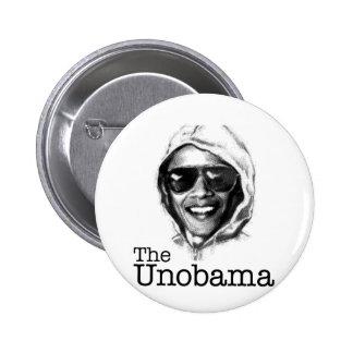 The UnObama - Obama Unabomber evil twin Pinback Button