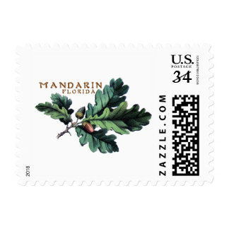 The Unofficial Mandarin 1 0z US Postage Stamp
