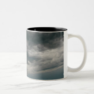 The Unsettled Sky Two-Tone Coffee Mug