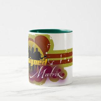 The Unsigned Matrix  Two Toned Mug