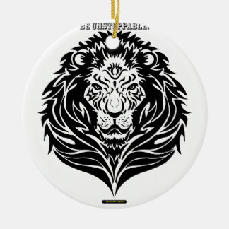 The UNSTOPPABLE King Ceramic Ornament