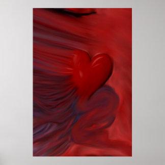 The Untamed Heart Print