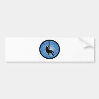 THE UNTAMED SPIRIT CAR BUMPER STICKER